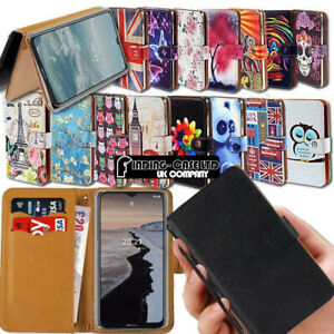 For Nokia G10 / G20 Leather Wallet Card Holder Magnetic Stand Case Cover