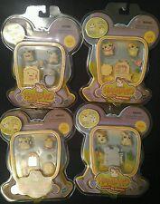 Hamtaro, figures little hamsters. Lots.(4).