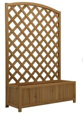 Wooden Planters With Trellis For Sale Ebay