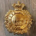 Vintage Gilded Metal Irish Lights Lighthouse Keepers Cap Badge