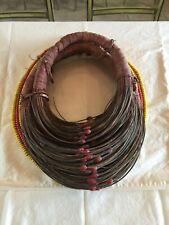 (Mpooro) - Authentic and Rare Antique Rendille-Samburu Woman's Wedding Collar