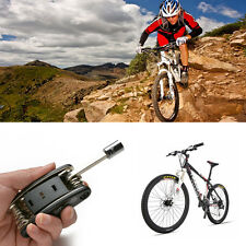 AGPtek 12 in 1 Bicycle Repair Tool Kit Chain Cutter Repair Kit Tire Patch Lever