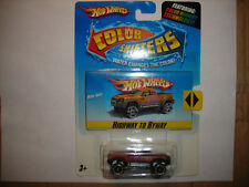 Hot Wheels Easter Mega Duty Color Shifters Coloring Kit Highway to Byway FREE SH