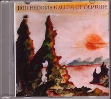 "Jimi Hendrix ""Valleys of Neptune"" 2 Track Dutch acetati PROMO CD"