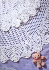 Crochet Pattern-Baby Shawl Pattern- lovely pattern in DK wool