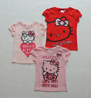 HELLO KITTY TEE-SHIRT FILLE GR. 92 98 104 116 128 134 100% COTON