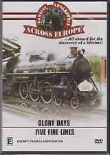 RAILWAY ADVENTURES ACROSS TIME - GLORY DAYS & FIVE FINE LINES - DVD