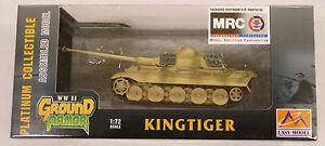 MRC 1/72 King Tiger German Tank Built Up 36297
