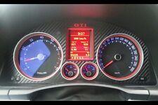 VW Golf 5 GTI Tachoblende Blende carbon 3D