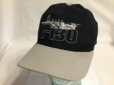 C-130 Plane Yokita AB Japan New Era Strapback Cap Made in USA Vintage!