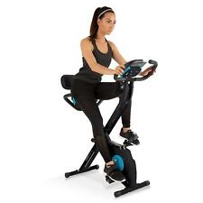 Cyclette Fitness Pieghevole Bicicletta Camera Workout Palestra Cardio Burn fat