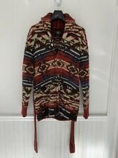 RRL Ralph Lauren 1930s Inspired Southwestern Hand Knit Ranch Cardigan M