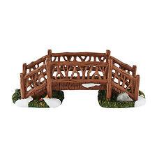 Dept 56 Village Woodland Footbridge Accessory 4054231 New D56 2016