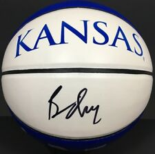 BILL SELF SIGNED AUTOGRAPHED KANSAS JAYHAWKS BASKETBALL FINAL FOUR CHAMPS COA