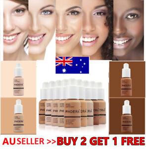 PHOERA® Foundation Concealer Full Coverage Makeup Matte Brighten long lasting