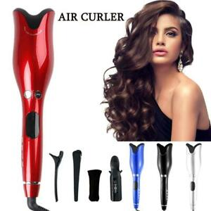 Curling Iron Automatic Hair Curler with Tourmaline Ceramic Heater and Portabale