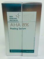 MIZON AHA 8% Peeling Serum 50ml 2 PACK Skin Renewal Program Exfoliate Toner