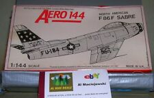 Aero 144 Aeroclub North American F86F Sabre model kit, in 1/144 scale