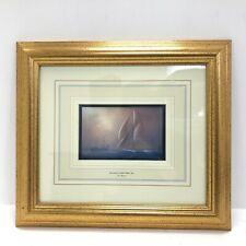 Tim Thompson Framed Print 'Reliance At Sandy Hook' 1903 Boat Wall Picture 341336