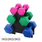 12KG Adjustable Dumbbells Free Weights Set Gym Dumbbell Pair Fitness Workout UK