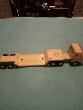 Metal tonka truck and trailer
