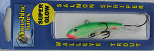 """MOONSHINE LURES SHIVER MINNOW SIZE #2 2-3/4"""" 1/2 oz - YELLOW TAIL"""