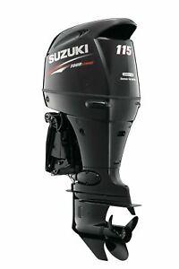 NEW SUZUKI DF115ATL LONG SHAFT OUTBOARD MOTOR BOAT ENGINE