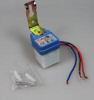 MINI Dämmerungsschalter 230V/6A, Dämmerungssensor Lichtsensor twilight switch