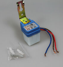MINI Interruptor crepuscular 230V/6A, Sensor de luz twilight switch