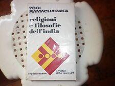 Religioni e filosofie dell'India.  -RAMACHARAKA -NAPOLEONE EDITORE - -