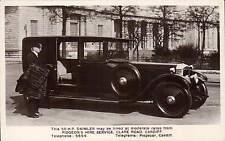 Cardiff. Daimler Car. Pidgeon's Hire Service, Clare Road. Card by W.M. & E. Ltd.