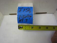 """3M BRAND WHITE  Reflective Diamond Grade Conspicuity  Tape 2"""" x 50 feet 1 splice"""