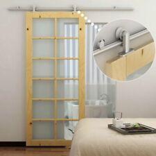 HomCom B81-007 Kit Instalación para Puertas Correderas - Plata