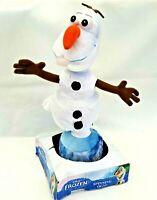 Disney Frozen Spinning Olaf Talk Dance Interactive Snowman Soft Plush Doll Toy
