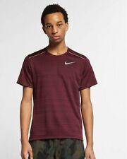 New Men's Size S Nike Dri Fit Miler Short Sleeve Running Shirt Aj7565 681