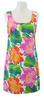 BODEN Women's Multi/Pink Blossom Sleeveless Side-Zip Tunic US Size 2 Regular NEW