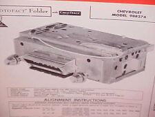 1960 CHEVROLET IMPALA CONVERTIBLE BELAIR EL CAMINO AM RADIO SERVICE SHOP MANUAL