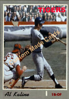 Custom made Topps 1970 Detroit Tigers Al Kaline  Baseball card