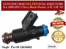 1/unit Fuel Injector OEM Delphi for 2009-2010 Chevrolet Malibu 3.5L V6 #12616862