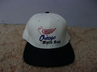 Vintage 1990's ANNCO Chicago White Sox Vintage Design Snapback Hat