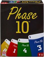 Mattel Games FPW38 - Phase 10 Kartenspiel, geeignet für 2 - 6 Spieler,