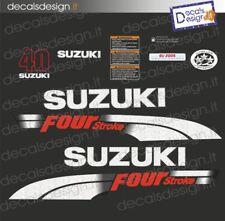Adesivi motore marino fuoribordo Suzuki 40 cv four stroke 2006 stickers