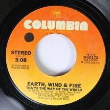 Soul 45 Earth, Wind & Fire - That'S The Way Of The World / Africano On Columbi 6
