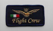 PATCH TARGHETTA PORTANOME FLIGHT CREW MILITARE