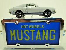 HOT WHEELS PARK N PLATES 1967 FORD MUSTANG GT FASTBACK NEW IN 1996 AVON PACKAGE