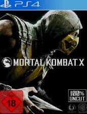 Playstation 4 Mortal Kombat X Neuwertig