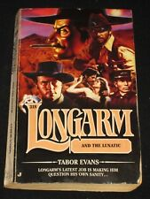wmf* SALE : TABOR EVANS ~ LONGARM AND THE LUNATIC #318  Western