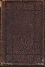 NEW My Address Book: Red Leathery Book, 6 x 9, 111 pages by My Address Book