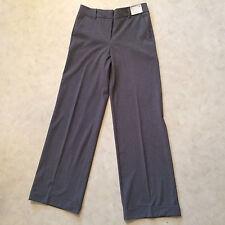 *NEW* Women's NEW YORK & CO. Gray Dress Stretch Pants Sz 6 Tall
