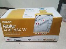 Therm-a-Rest NeoAir Xlite Max SV Ultralight Backpacking Air Mattress  New